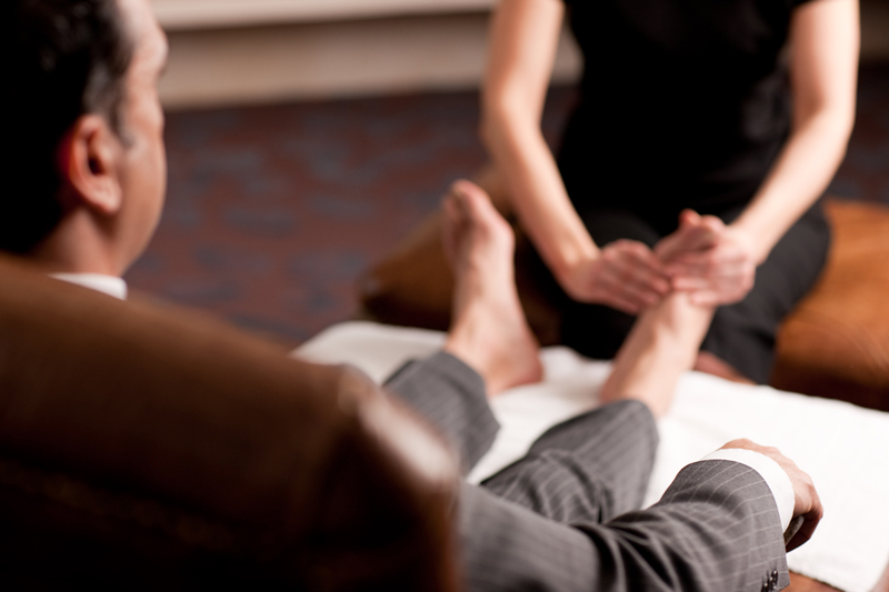 Reflexology For Men